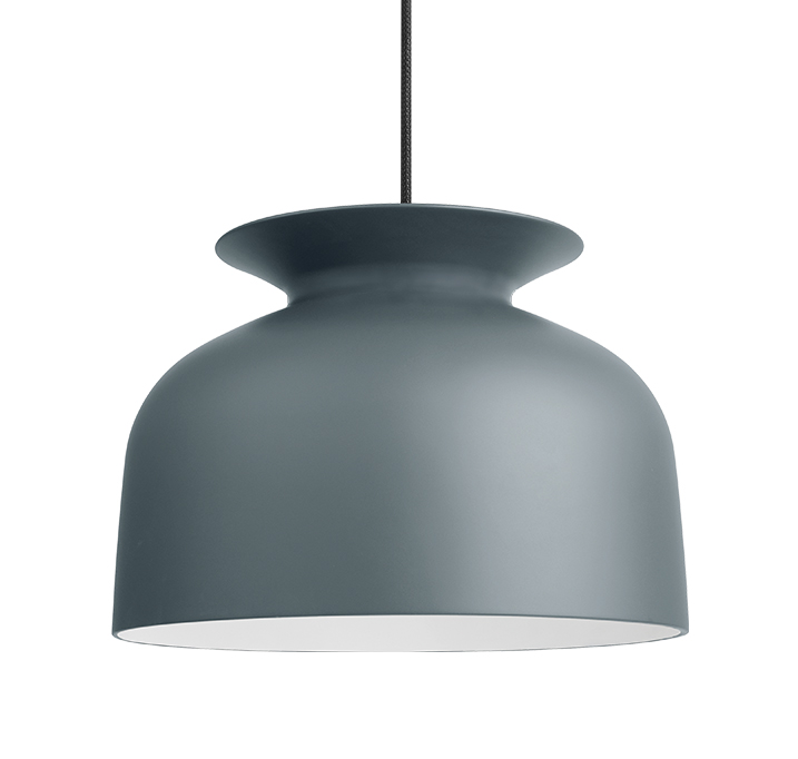 gubi lampe suspension ronde 40 cm pigeon aluminium. Black Bedroom Furniture Sets. Home Design Ideas