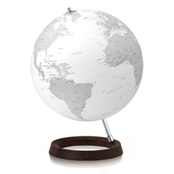 ATMOSPHERE desk lamp world map FULL CIRCLE REFLECTION