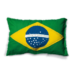 SELETTI housse de coussin FLAGS CUSHION