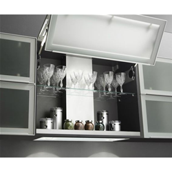 AIRONE AIDA recessed undercabinet hood with LED