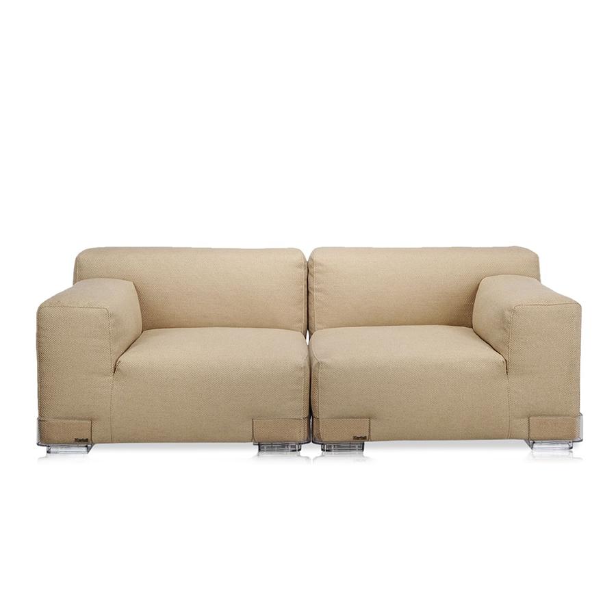 Kartell sofa plastics duo 1 76 mt composition 1 dove for Sofa 50 euro