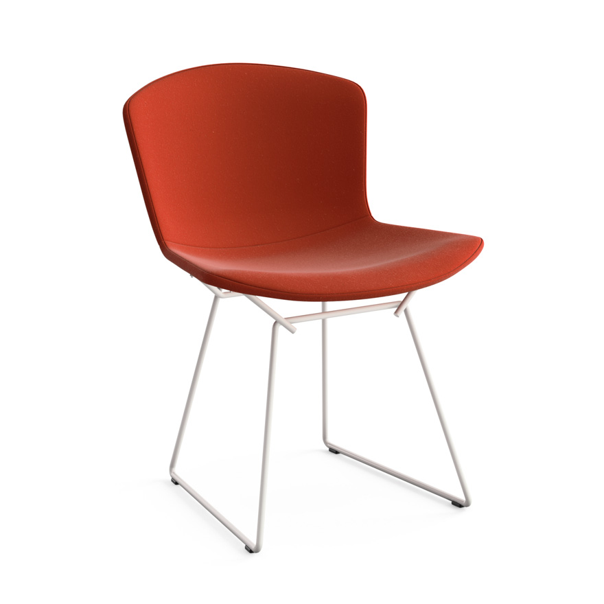 Knoll chaise enti rement tapiss e bertoia structure for Bertoia chaise prix