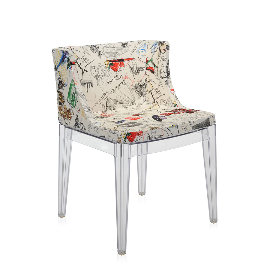Kartell fauteuil mademoiselle la mode ebauche polycarbonate - Fauteuil mademoiselle kartell occasion ...