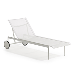 KNOLL chaise longue avec roues 1966 Adjustable Collection Richard Schultz