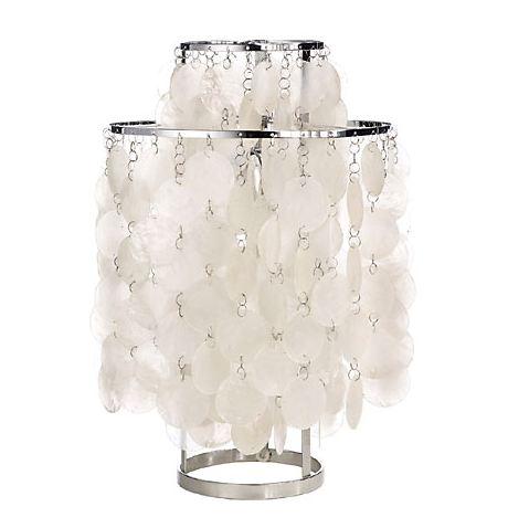 VERPAN lampe de table FUN MÈRE PERLE (Nacré 2 - Métal)
