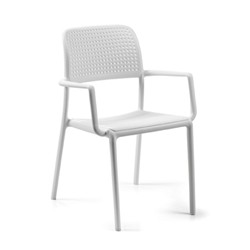 NARDI set de 4 chaises avec accoudoirs BORA d'exterieur CONTRACT COLLECTION