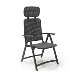 NARDI fauteuil pliant ACQUAMARINA d'exterieur CONTRACT COLLECTION