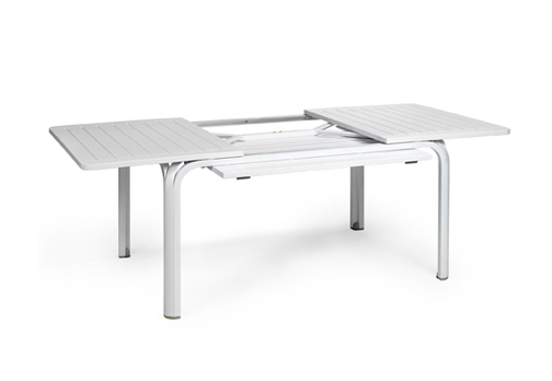 Nardi table d 39 exterieur alloro 140 extensible garden collection blanc - Table extensible exterieur ...