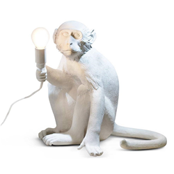 SELETTI lampe de table MONKEY LAMP à LED