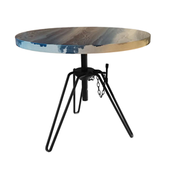 DIESEL WITH MOROSO  table basse OVERDYED SIDE TABLE