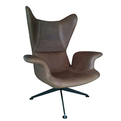 DIESEL WITH MOROSO swivel armchair LONGWAVE