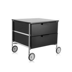 KARTELL cabinet with wheels and 2 drawers MOBIL