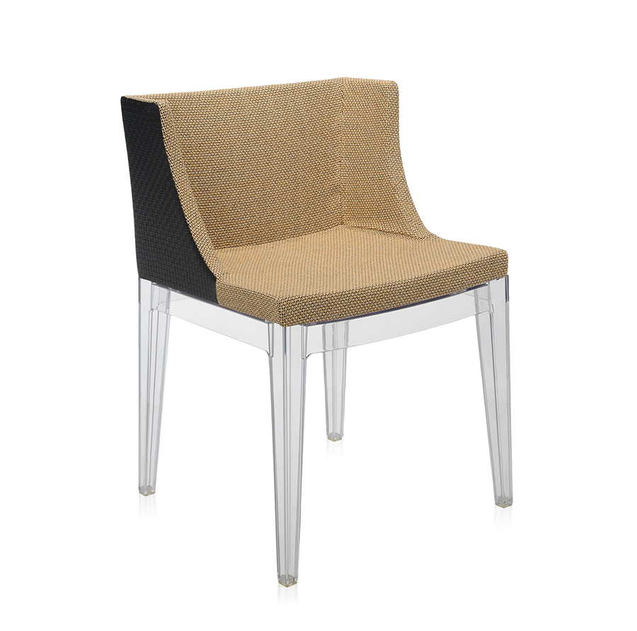 Kartell fauteuil mademoiselle kravitz tessuto rafia structure transparente - Fauteuil kartell occasion ...