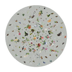 MOOOI CARPETS tapis GARDEN OF EDEN ROUND Signature collection