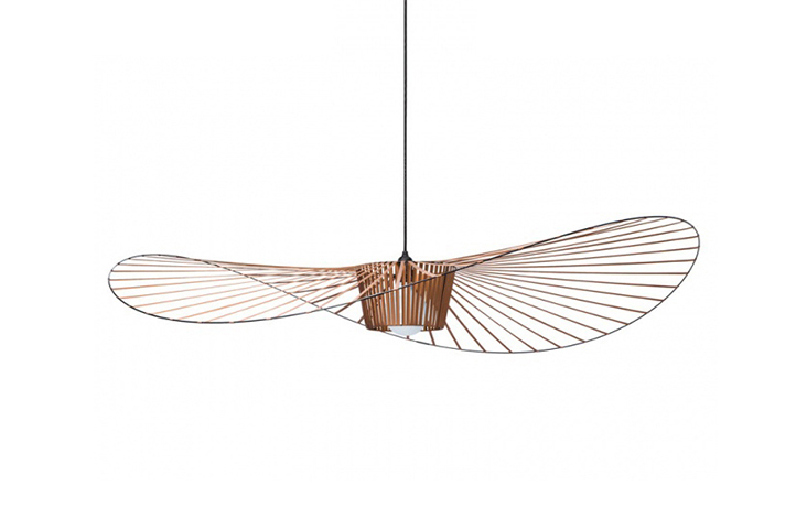 petite friture lampe suspension vertigo petit cuivre fibre de verre et polyur thane. Black Bedroom Furniture Sets. Home Design Ideas