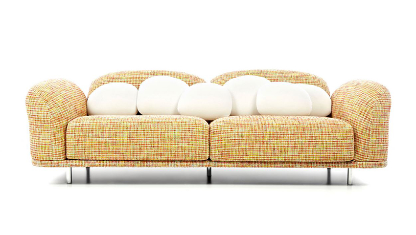 Swell Moooi Sofa Cloud Sofa Rainbow Boucle Fabric Gmtry Best Dining Table And Chair Ideas Images Gmtryco
