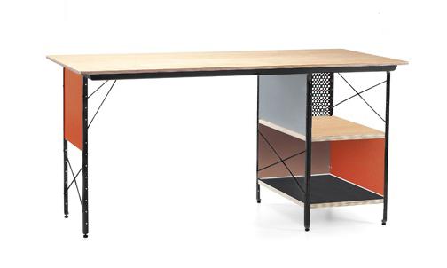 Vitra bureau eames desk unit edu erable bois acier