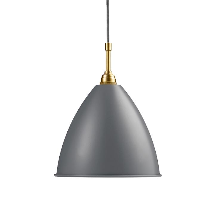 gubi lampe suspension bestlite bl9m gris laiton m tal. Black Bedroom Furniture Sets. Home Design Ideas