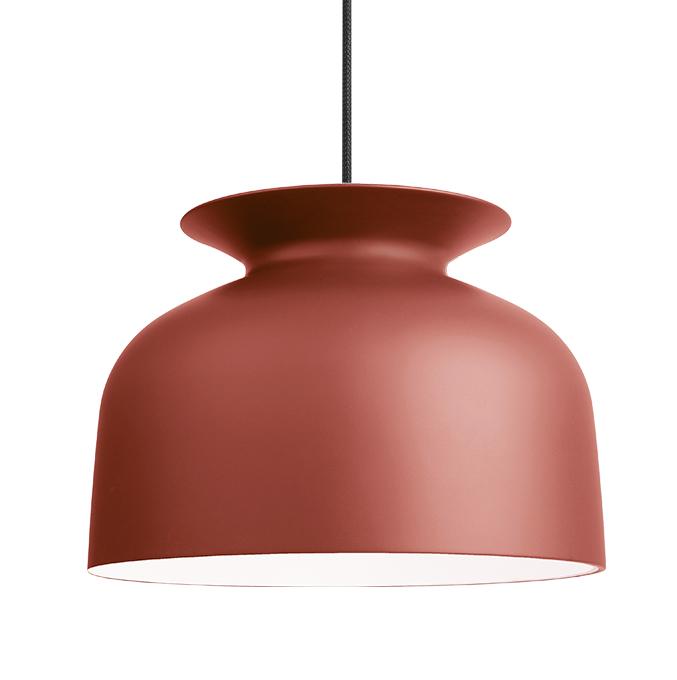 gubi lampe suspension ronde 40 cm rouille aluminium. Black Bedroom Furniture Sets. Home Design Ideas