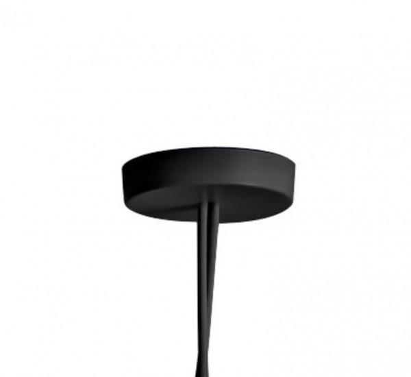 flos rosace multiple pour lampe de suspension aim noir aluminium. Black Bedroom Furniture Sets. Home Design Ideas