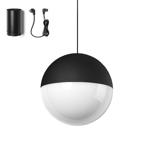 Flos pendant lamp string light sphere 22 meters with floor switch flos pendant lamp string light sphere 22 meters with floor switch mozeypictures Image collections