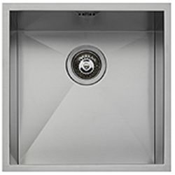 "BARAZZA sink square tray radius ""0"" flush 40x40 1Q4040I"