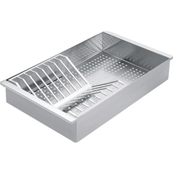 BARAZZA colander with draining-rack 1VSOF