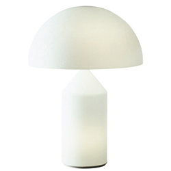 OLUCE lampe de table en verre ATOLLO