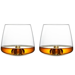 NORMANN COPENHAGEN deux verres WHISKEY GLASS