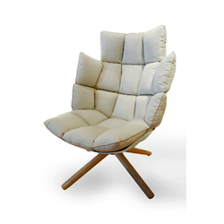 B&B ITALIA swivel armchair HUSK