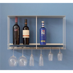 KRIPTONITE wall bottle rack CANTINETTA