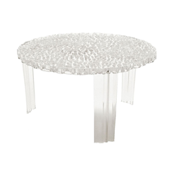"KARTELL side table T-TABLE H 28 ""low"""