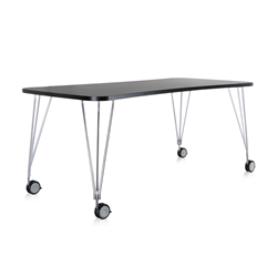 KARTELL table with wheels MAX
