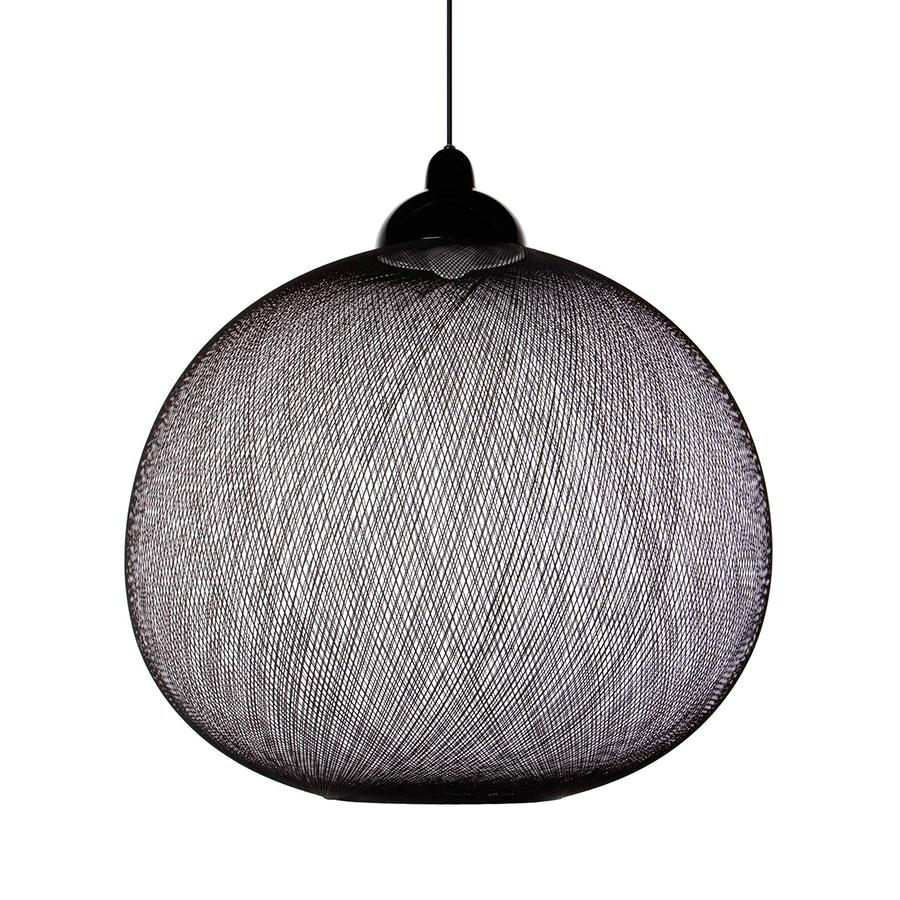 moooi lampe de suspension non random 71 cm noir c ble. Black Bedroom Furniture Sets. Home Design Ideas
