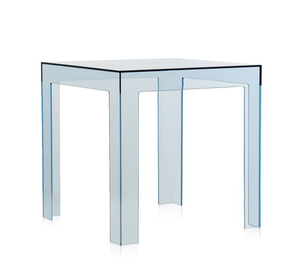 kartell table basse jolly bleu polycarbonate transparent. Black Bedroom Furniture Sets. Home Design Ideas
