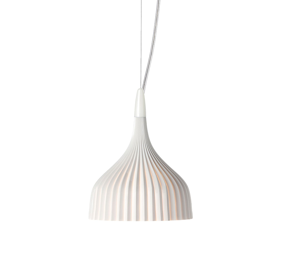 kartell lampe suspension e 39 blanc opaque. Black Bedroom Furniture Sets. Home Design Ideas