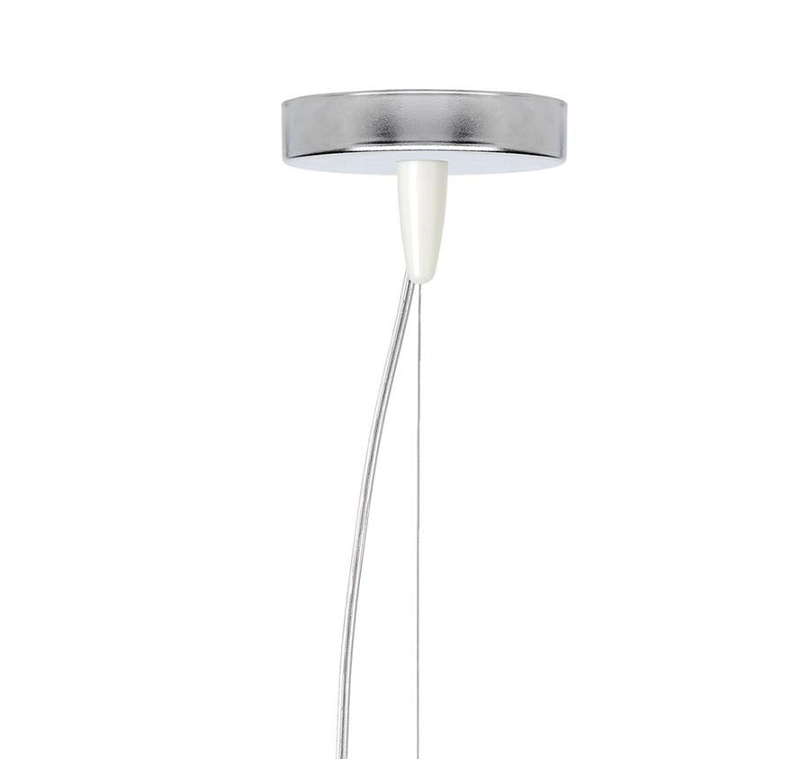 Kartell Coloré Lampe Polycarbonate Suspension Opaque À E'blanc FJ3TK1clu