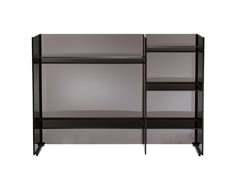 kartell by laufen meuble de bain sound rack fum pmma transparent. Black Bedroom Furniture Sets. Home Design Ideas