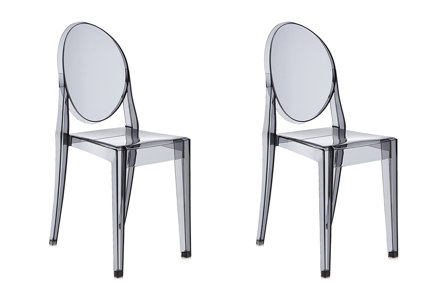 KARTELL Set Of 2 Chairs VICTORIA GHOST