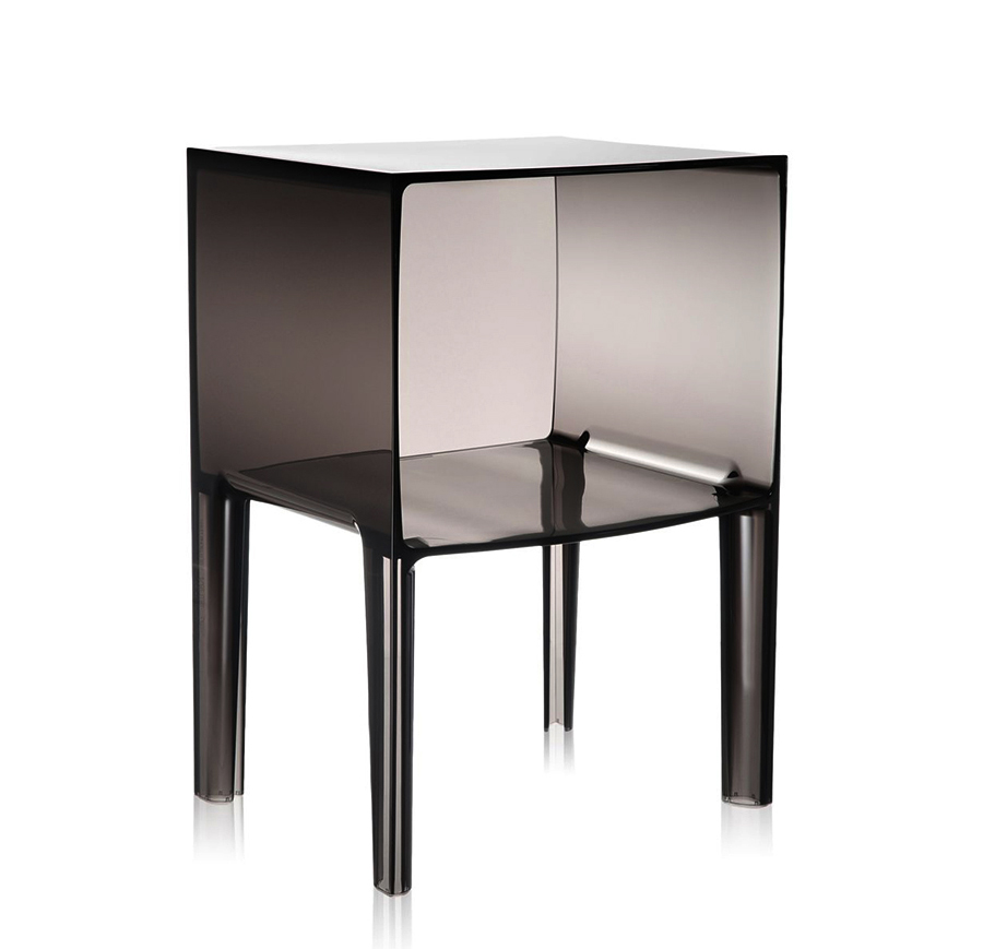 kartell table de chevet small ghost buster fum pmma transparent. Black Bedroom Furniture Sets. Home Design Ideas