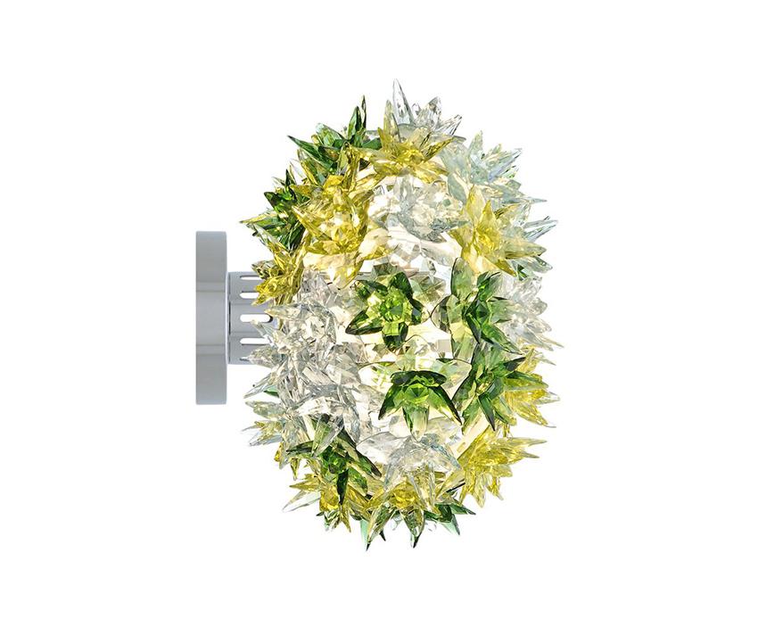 Kartell applique bloom new menthe Ø 28 cm technopolymère