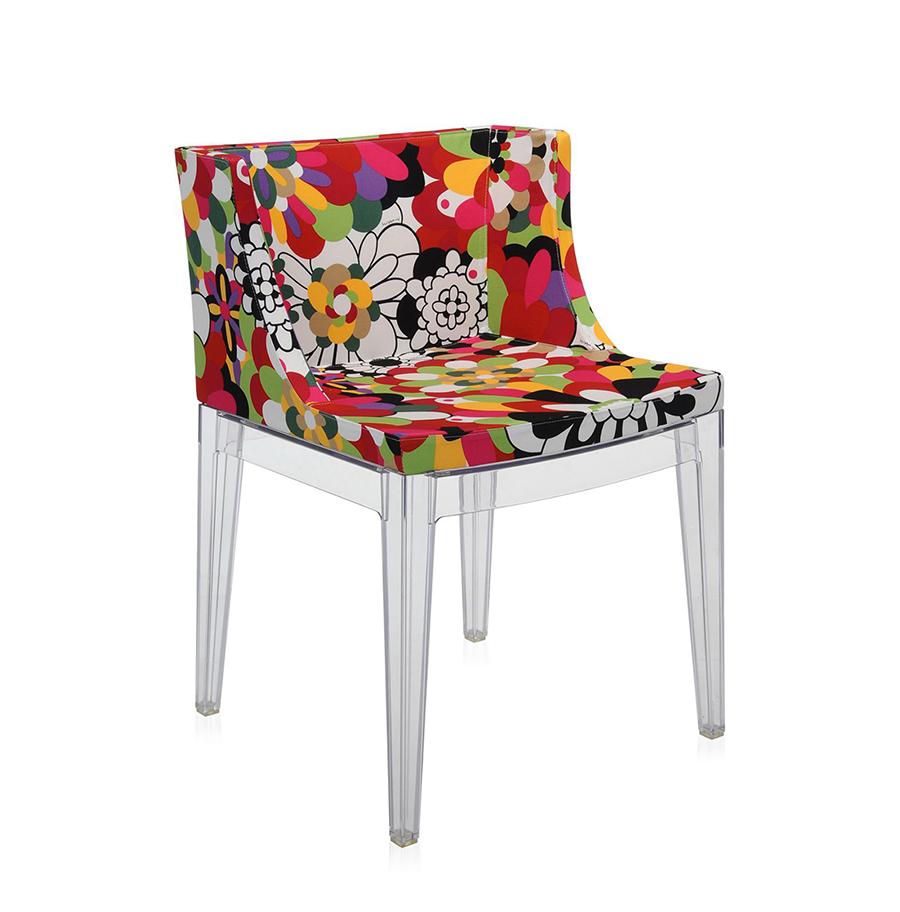 kartell fauteuil mademoiselle la mode vevey nuances rouges polycarbonate transparent. Black Bedroom Furniture Sets. Home Design Ideas