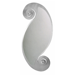 ARTI E MESTIERI wall mirror CIRCE OVAL