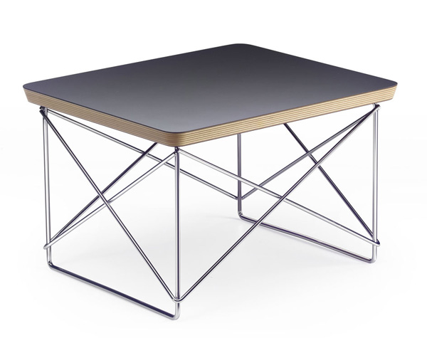 vitra table basse occasional table ltr noir hpl. Black Bedroom Furniture Sets. Home Design Ideas