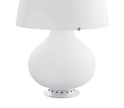 FONTANA ARTE rechange structure + globe pour lampe de table FONTANA (Ø 47 cm Verre)