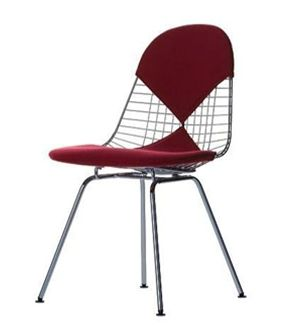 vitra chaise wire chair dkx assise et dossier avec. Black Bedroom Furniture Sets. Home Design Ideas