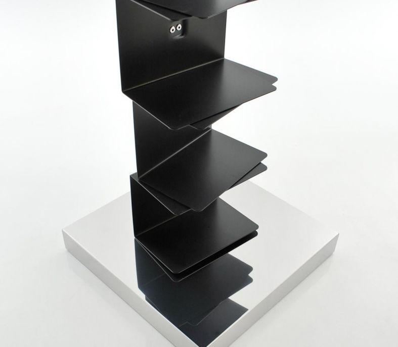 opinion ciatti biblioth que original ptolomeo pt75 h 75 structure noire base inox structure. Black Bedroom Furniture Sets. Home Design Ideas