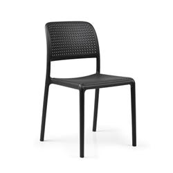 nardi set de 4 chaises bora bistrot d 39 exterieur contract collection gris tourterelle. Black Bedroom Furniture Sets. Home Design Ideas