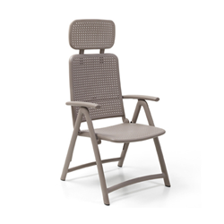 NARDI foldable armchair ACQUAMARINA CONTRACT COLLECTION