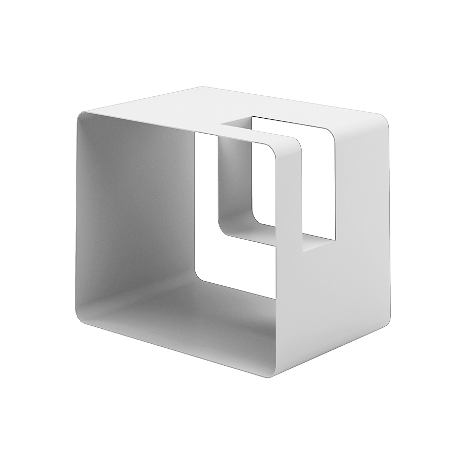 meme design porte revues libris blanc m tal. Black Bedroom Furniture Sets. Home Design Ideas